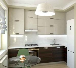 Планировка кухни 6 м