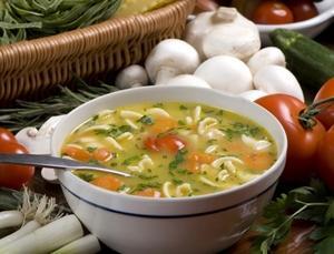 Суп для диетического стола