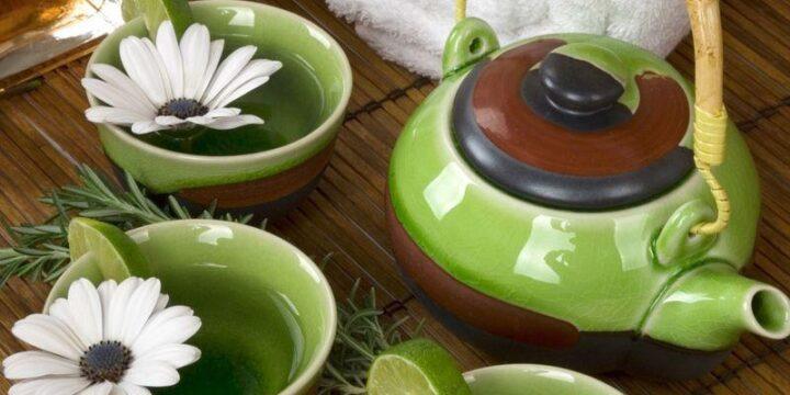 зеленый чай с чем пить