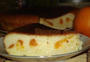 запеканка творожная с мандаринами фото good-cook.ru