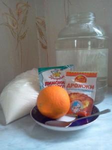 квас из апельсинов состав