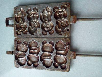 рецепт печенья мишки для советской формы для выпечки