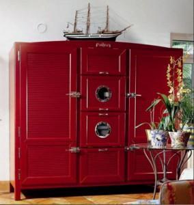 большой холодильник вид снаружи