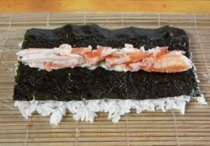 как приготовить суши калифорния
