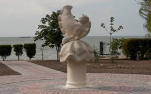 памятник варенику в ейске