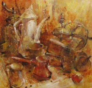 кофе в искусстве