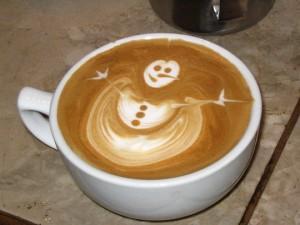 латте кофе