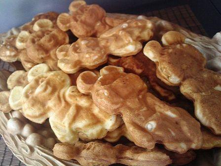 рецепт печенья для выпечки в форме мишки на газу