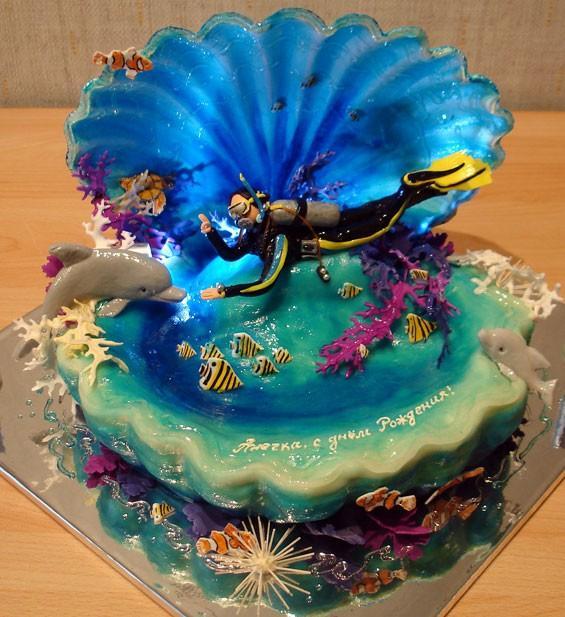 Дизайн торта на день рождения