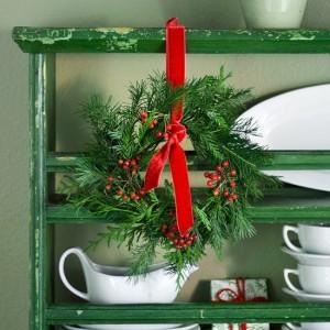 украсить кухню к новому году
