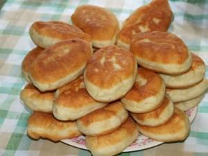 пирожки из творожного теста