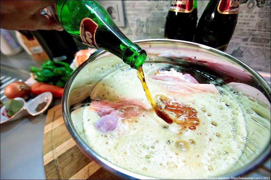 Пиво в кулинарии