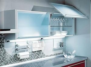 мебель для кухни в стиле техно