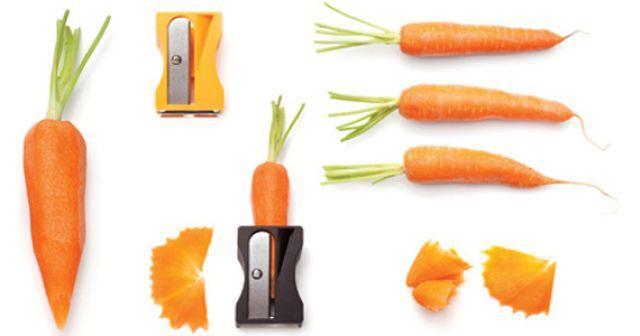 точилка для очистки моркови