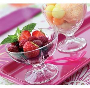 креманка с фруктами