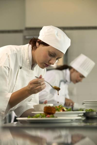 занятия на курсах поваров
