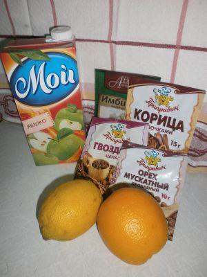 Цитрусовые и специи делают безалкогольный глинтвейн отличным средством борьбы с простудой.