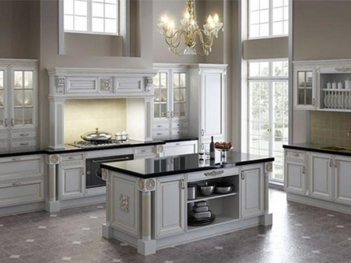 интерьер кухни в классическом стиле