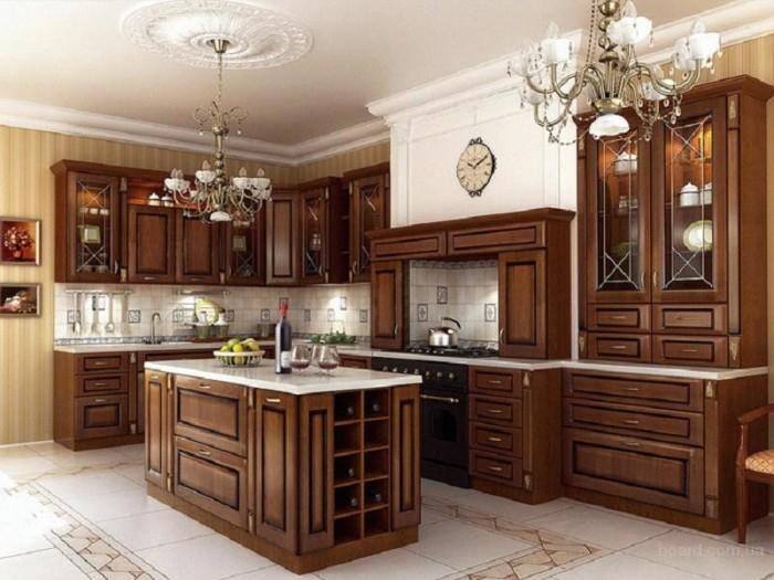 красивые кухни в классическом стиле