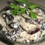 салат из баклажанов в майонезе на зиму