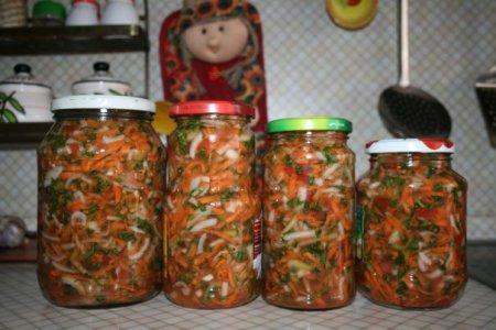 овощная заправка для супа с кабачком