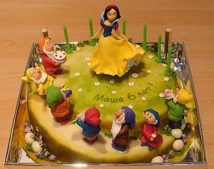 детский торт к празднику