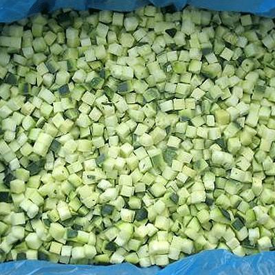 заморозка кабачков на зиму кубиками