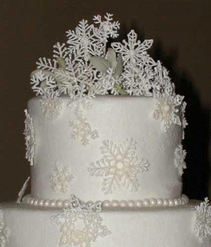 торт к новому году украшенный айсингом
