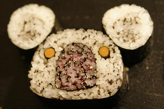необычные красивые суши