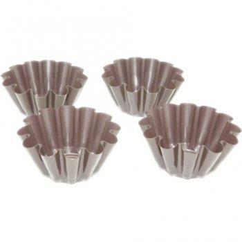 формочки для кексов из алюминиевой фольги для выпечки куличей