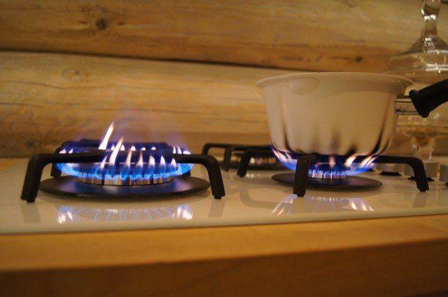 копоть от газовой плиты