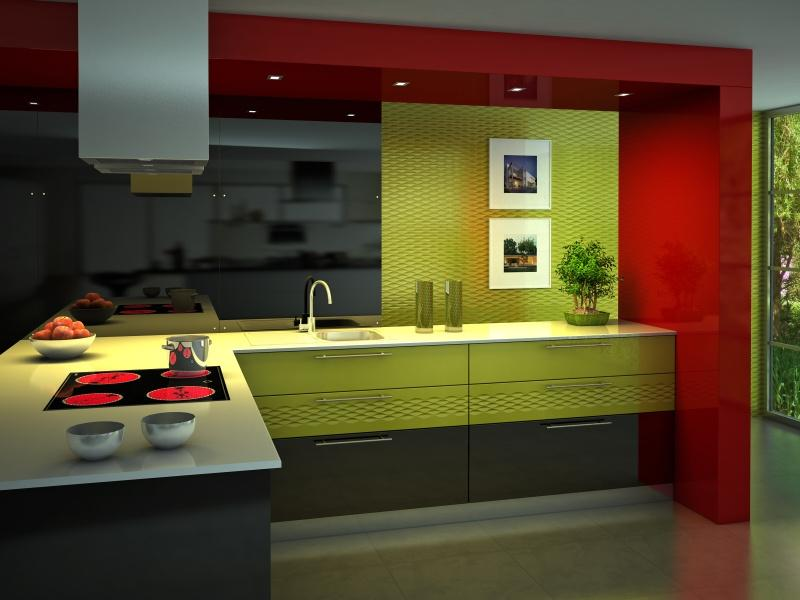 Фото дизайна кухонь в стиле модерн