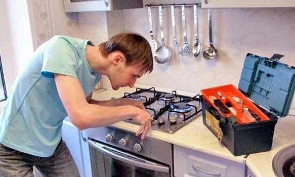 ремонт газовых плит специалистом