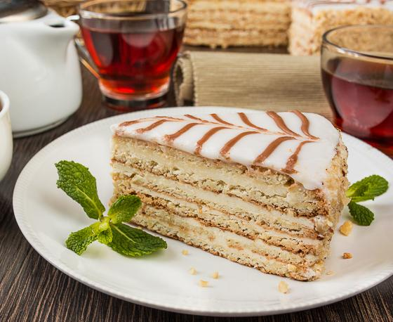рецепт торта эстерхази в домашних условиях