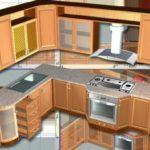дизайн-проект кухни в 3d