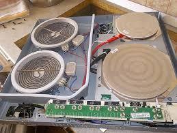 Ремонт электроплиты горенье