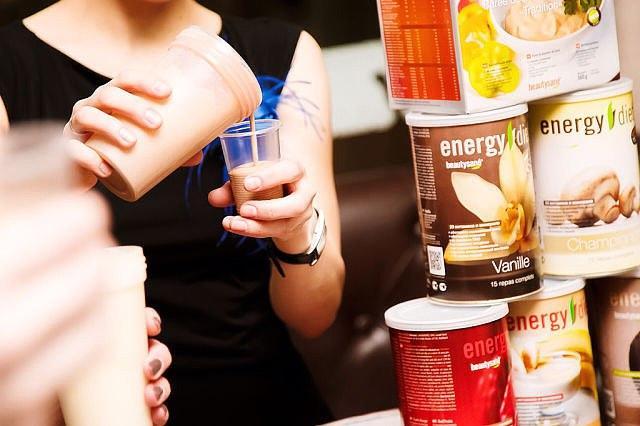 заменители питания коктейли энерджи диет