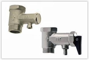 Применения предохранительного клапана для бойлера