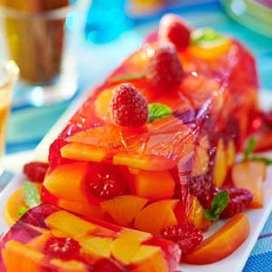 агар-агар в фруктовом десерте