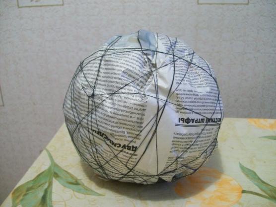 как сделать шар-основу для топиария своими руками