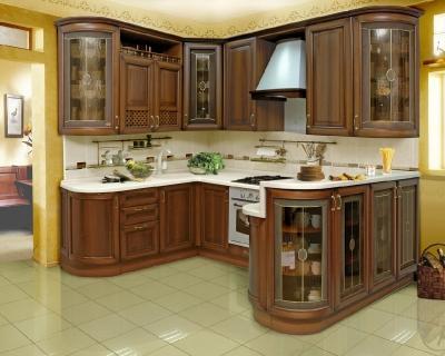 мебель для кухни на заказ - классический стиль