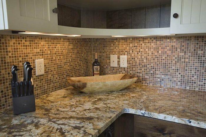 мелкая мозаика плитка для кухни
