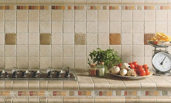 керамическая плитка для кухни в средиземноморском стиле