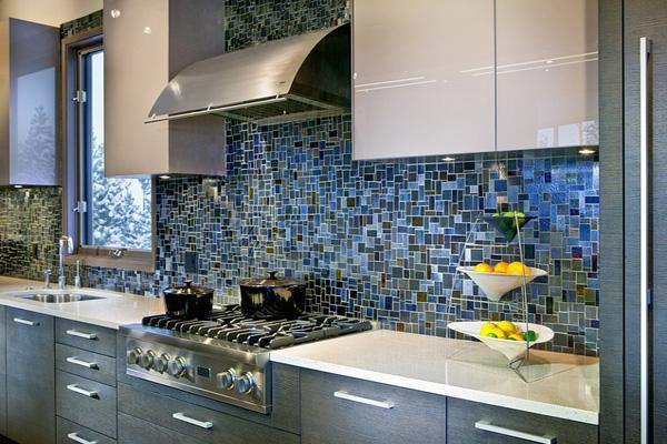 мозаика плитка для кухни на фартук