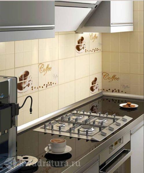 плитка на кухне в современном интерьере