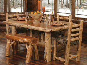 мебель для кухни в стиле рустик