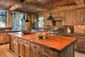 кухня в стиле рустик правила оформления
