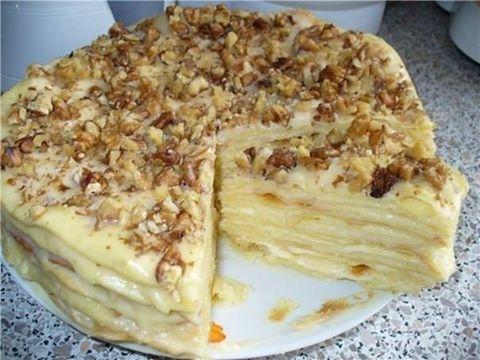 торт королевский рецепт с безе