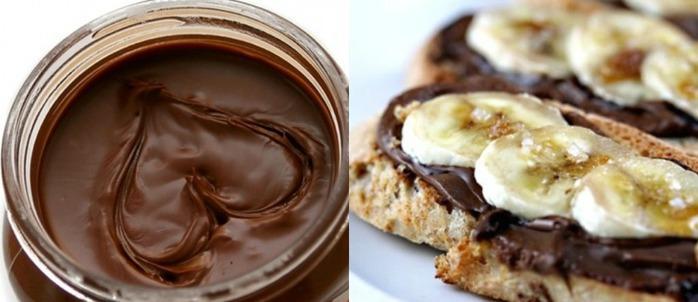 как в домашних условиях приготовить шоколадную нутеллу