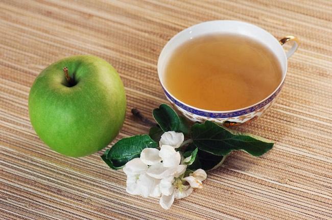 диета зеленый чай и яблоки